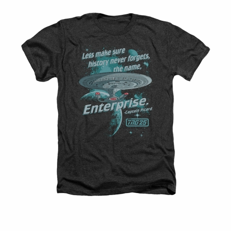 Star Trek TNG Never Forget Heather T Shirt