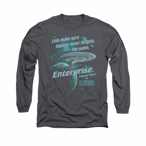 Star Trek TNG Never Forget Long Sleeve T Shirt