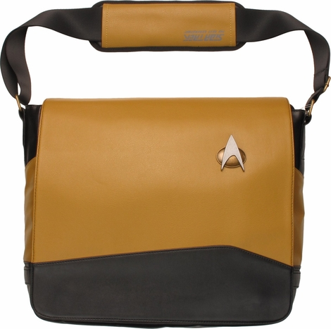 Star Trek TNG Operations Uniform Messenger Bag