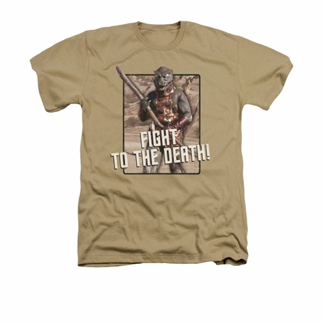 Star Trek To the Death Heather T Shirt