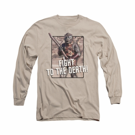Star Trek To the Death Long Sleeve T Shirt