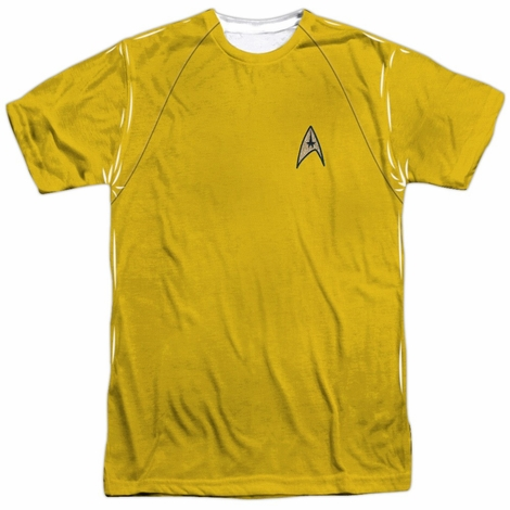 Star Trek TOS Command Sublimated T Shirt