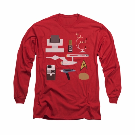 Star Trek TOS Gift Set Long Sleeve T Shirt