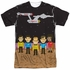 Star Trek TOS Pixel Crew Sublimated T Shirt