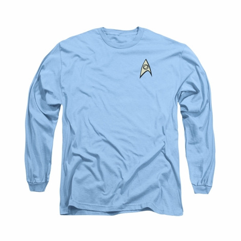 Star Trek TOS Science Long Sleeve T Shirt