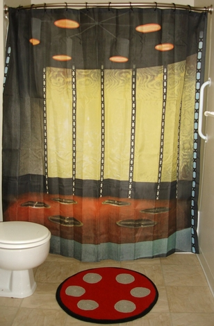Star Trek Transporter Room Bath Combo
