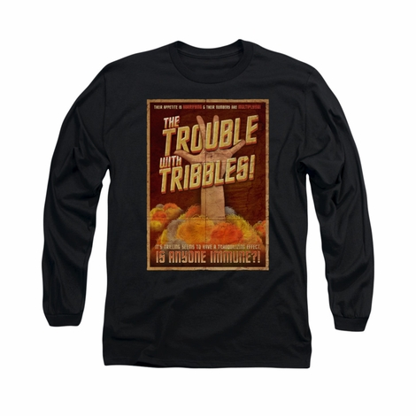 Star Trek Tribbles Poster Long Sleeve T Shirt