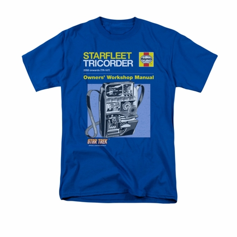 Star Trek Tricorder Manual T Shirt