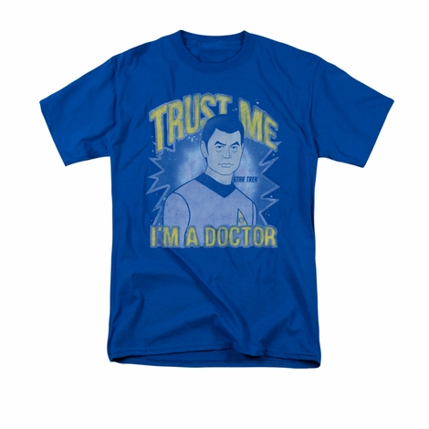 Star Trek Trust Me Doctor T Shirt