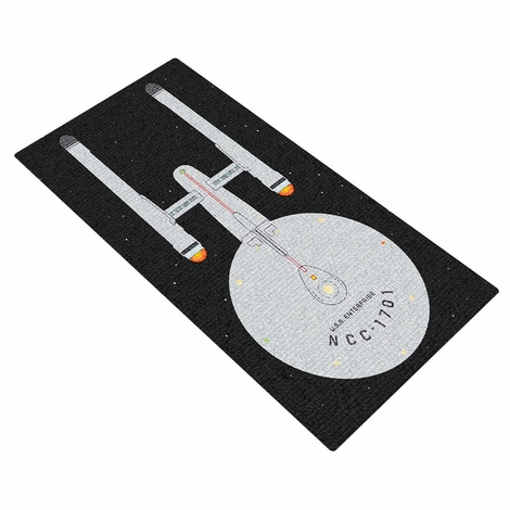 Star Trek USS Enterprise Rug