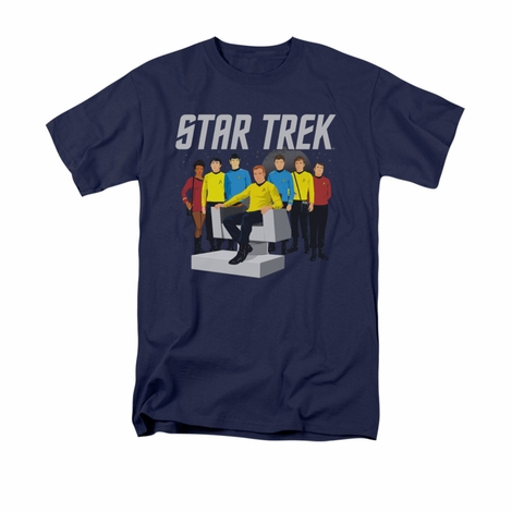 Star Trek Vector Crew T Shirt