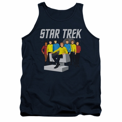 Star Trek Vector Crew Tank Top