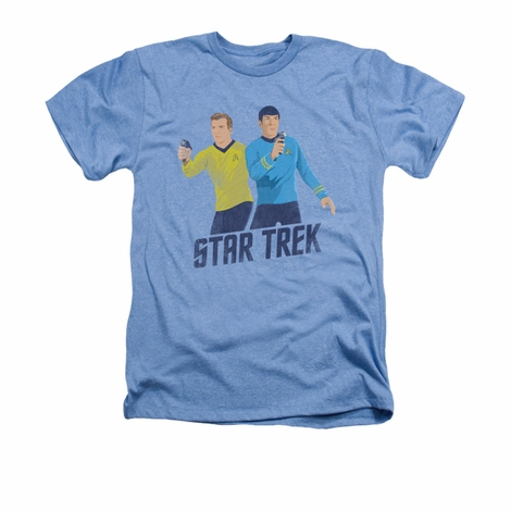 Star Trek Vintage Phasers Heather T Shirt