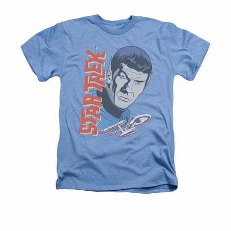 Star Trek Vintage Spock Heather T Shirt
