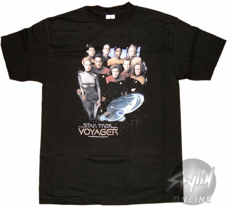 Star Trek Voyager Crew T-Shirt