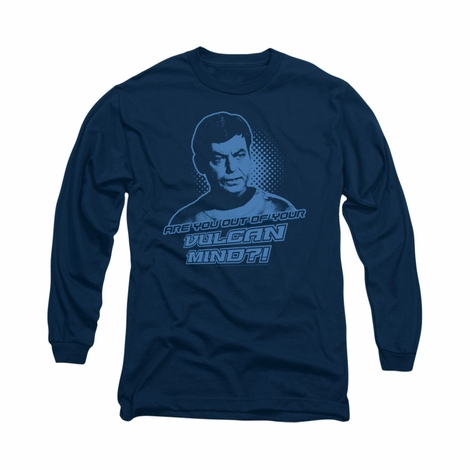 Star Trek Vulcan Mind Long Sleeve T Shirt