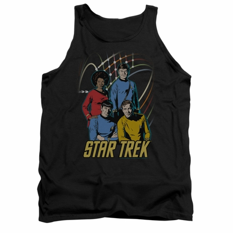 Star Trek Warp Factor 4 Tank Top