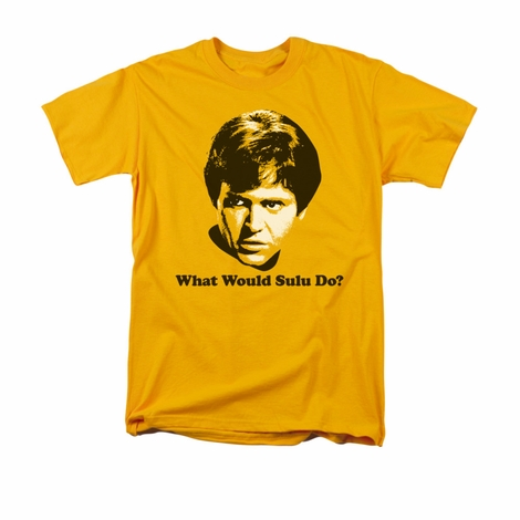 Star Trek What Would Sulu Do T Shirt