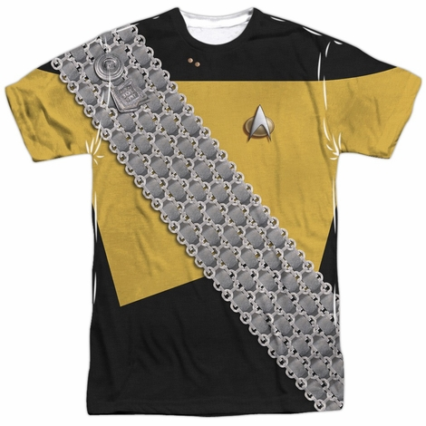 Star Trek Worf Uniform Sublimated T Shirt