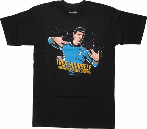Star Trek Wreck Yourself T-Shirt