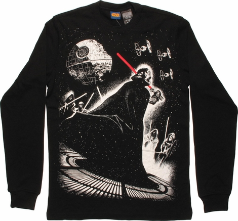 Star Wars Vader Battle Thermal Long Sleeve T-Shirt