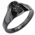 Star Wars 3D Darth Vader Helmet Black Ring