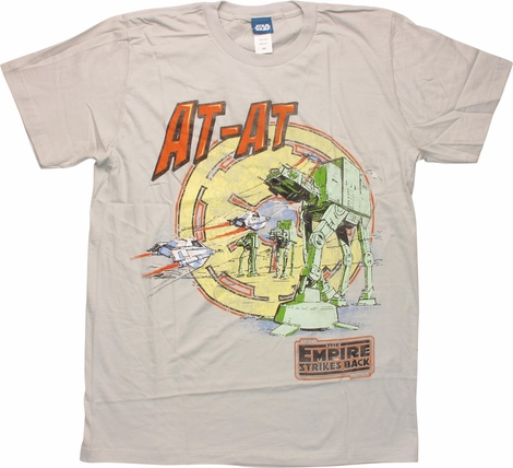 Star Wars AT-AT Empire Strikes Back T-Shirt