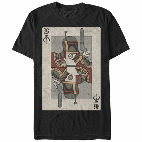 Star Wars Boba Fett Card T-Shirt