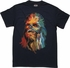 Star Wars Colorful Chewbacca Bust T-Shirt