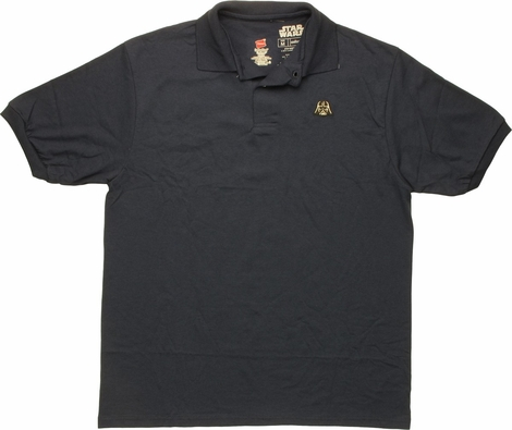 Star Wars Darth Vader Helmet Polo Shirt
