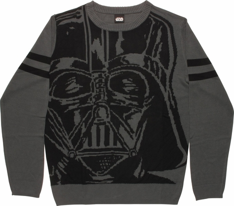 Star Wars Darth Vader Mask Mighty Fine Sweater