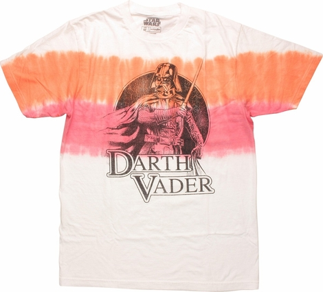 Star Wars Darth Vader Name Tie Dye T-Shirt