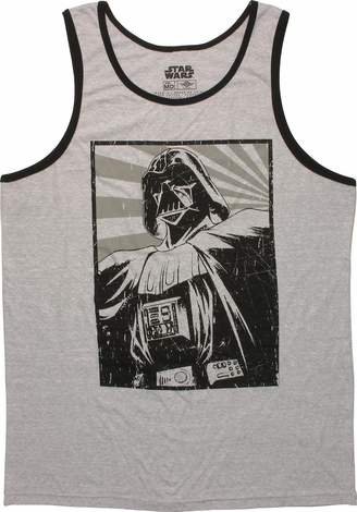 Star Wars Darth Vader Ringer Tank Top