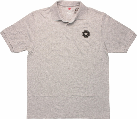 Star Wars Embroidered Imperial Logo Polo Shirt