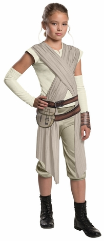Star Wars Force Awakens Rey Deluxe Child Costume
