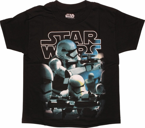 Star Wars Force Awakens Troopers Youth T-Shirt
