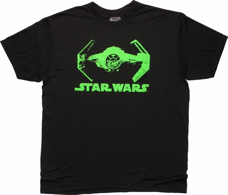 Star Wars Green Tie Fighter T-Shirt