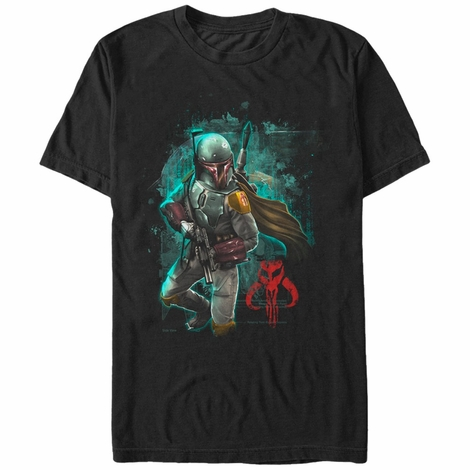 Star Wars Mandalorian Hunter T-Shirt