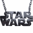 Star Wars Name Silver Necklace