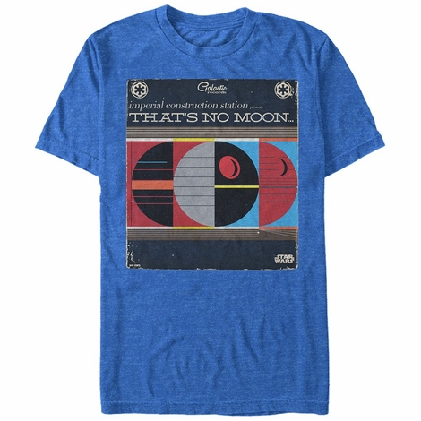 Star Wars No Moon Album T-Shirt