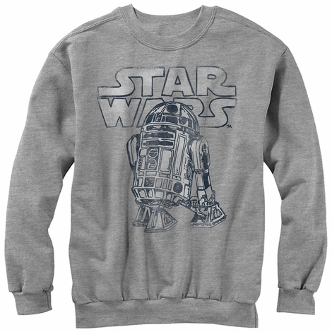 Star Wars R2D2 Crew Fleece Sweatshirt