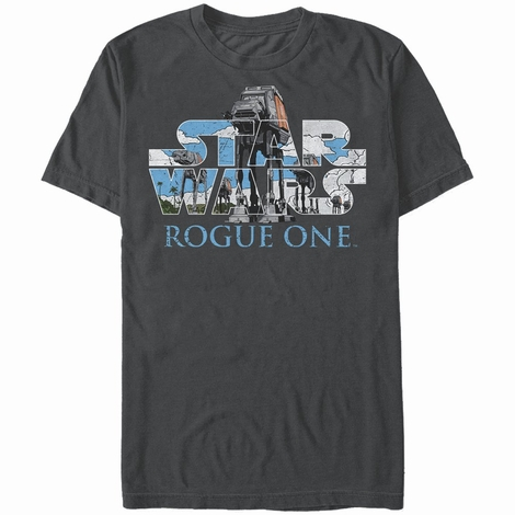 Star Wars Rogue One AT-ACT Logo T-Shirt