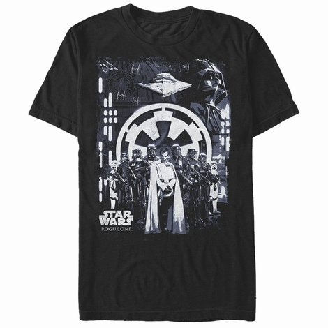 Star Wars Rogue One Looming Empire T-Shirt