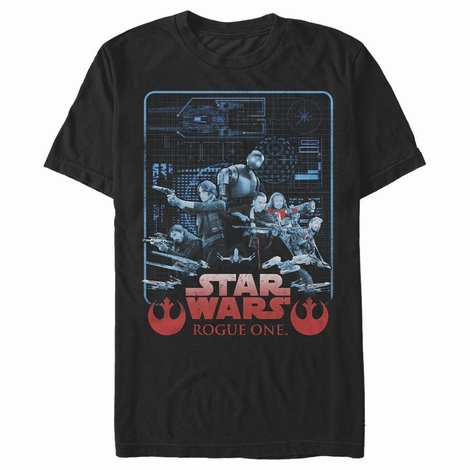 Star Wars Rogue One Plan Squad T-Shirt