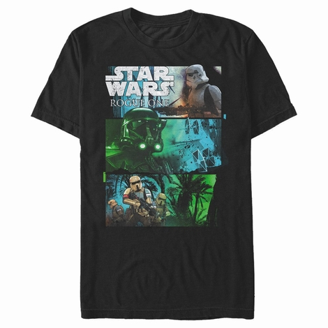 Star Wars Rogue One Troop Types T-Shirt