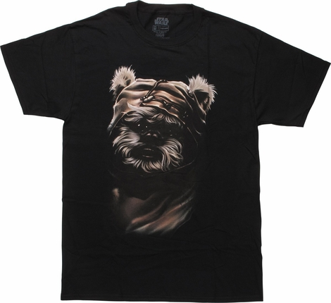 Star Wars RotJ Wicket Ewok Face T-Shirt