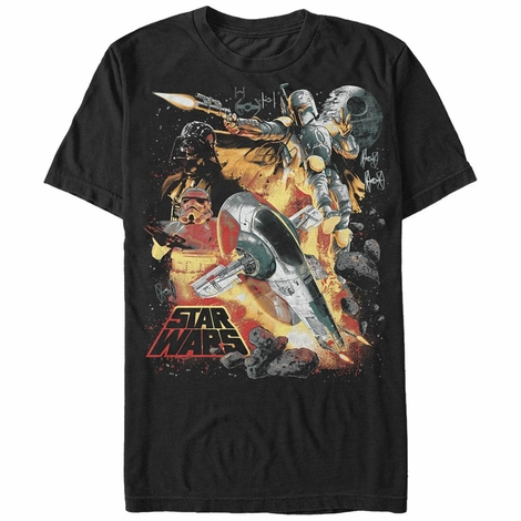 Star Wars Slave Fett Action T-Shirt