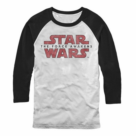 Star Wars TFA Logo Split Raglan T-Shirt