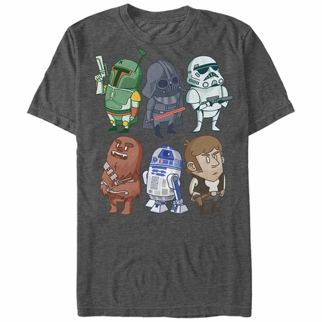 Star Wars Toony Group T-Shirt