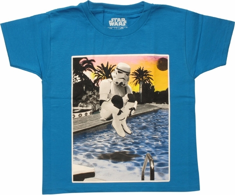 Star Wars Trooper Cannon Ball Juvenile T-Shirt